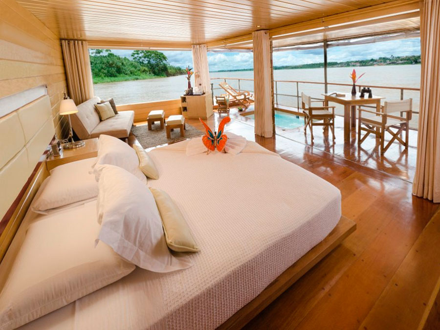 The Top 4 Luxury Amazon Cruises