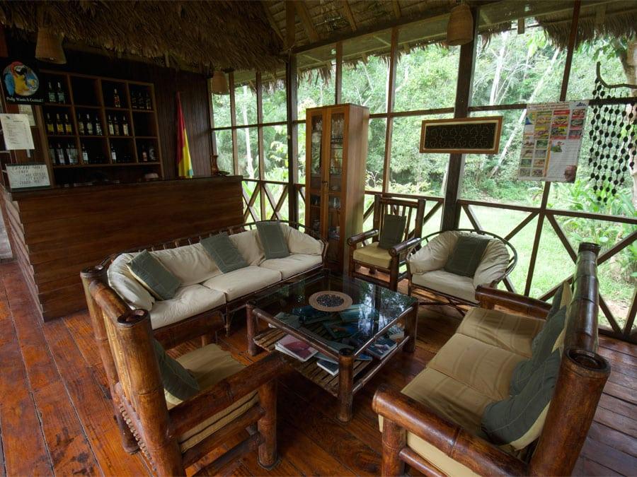 Heath River Wildlife Center Lounge