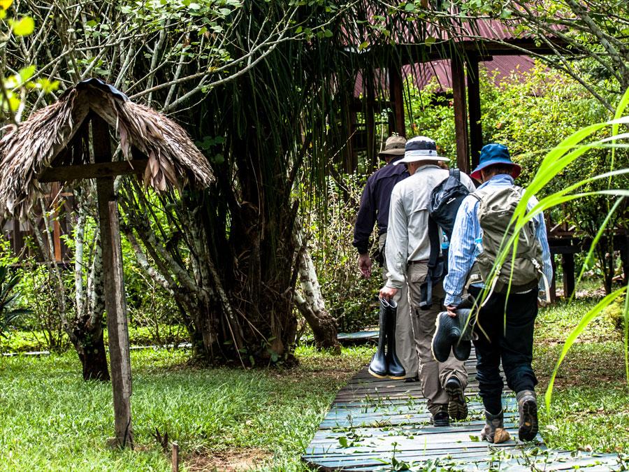 Heath River Wildlife Center Trail