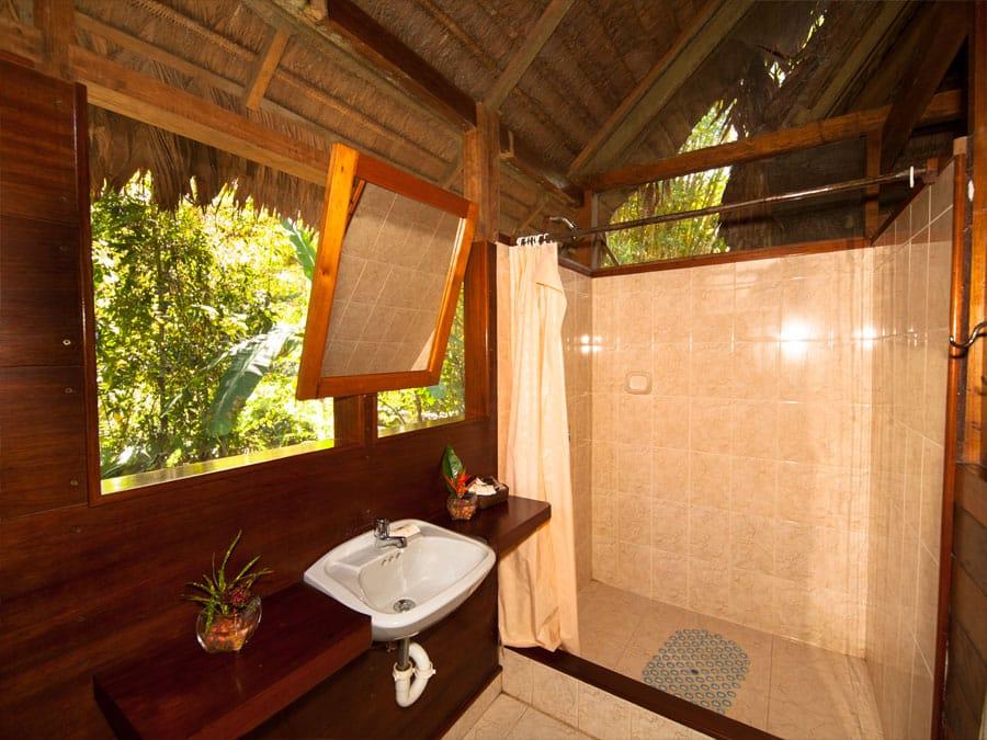 Manu Wildlife Center Bathroom