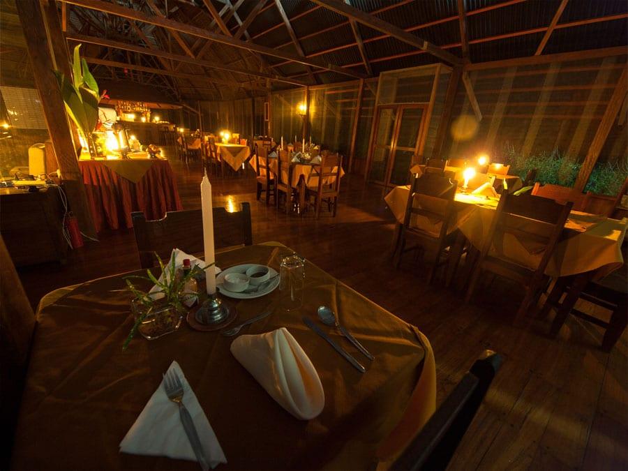 Manu Wildlife Center Dining