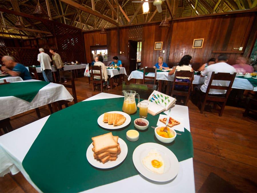 Sandoval Lake Lodge Dining