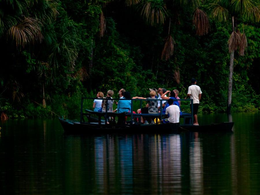 Sandoval Lake Lodge Tour