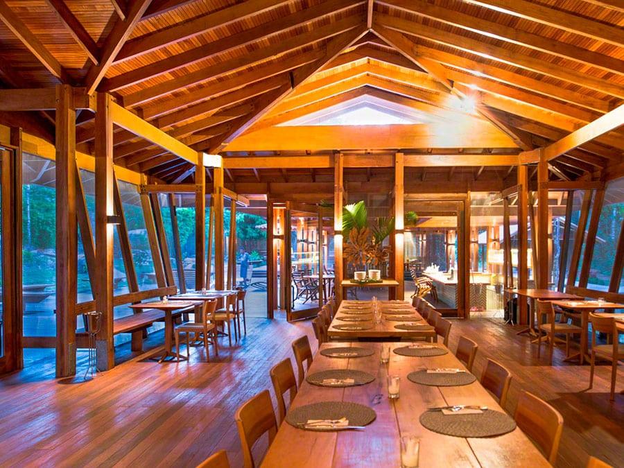 Cristalino Lodge Dining