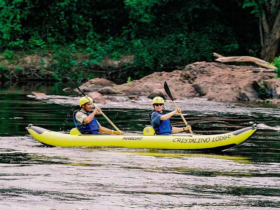 Cristalino Lodge Kayaking