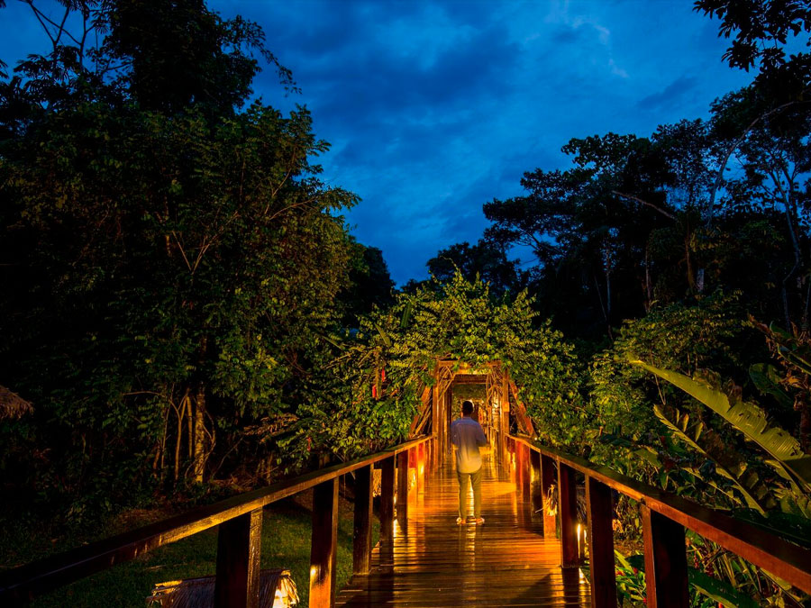 The Posada Amazonas Lodge
