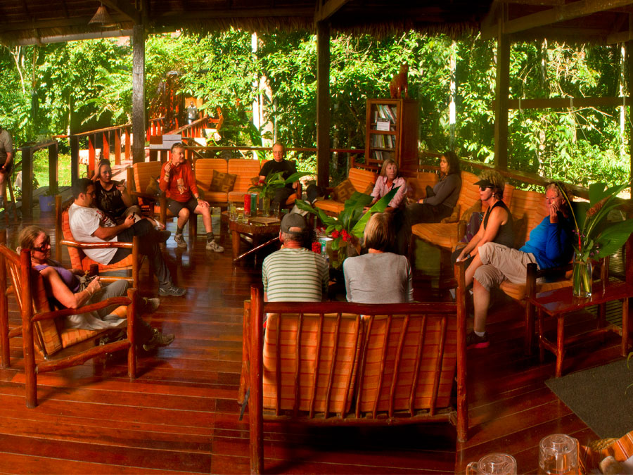 Posada Amazonas Lodge Lounge