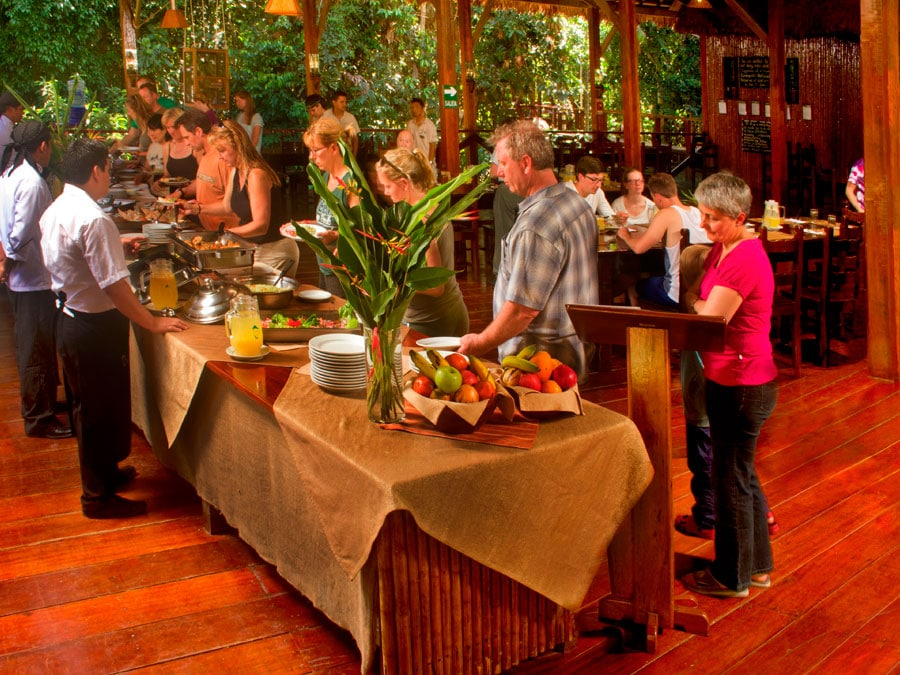Refugio Amazonas Lodge Dining