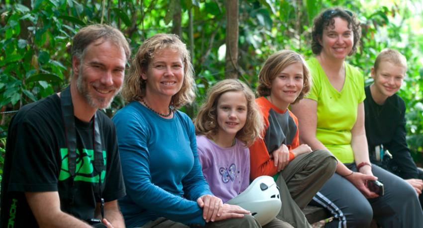 Refugio Amazonas Lodge Family