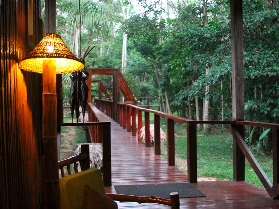 Refugio Amazonas Lodge Walkway