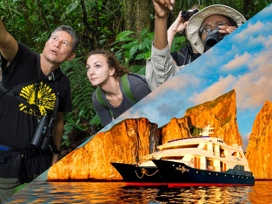 Galapagos & Amazon Combo Tour