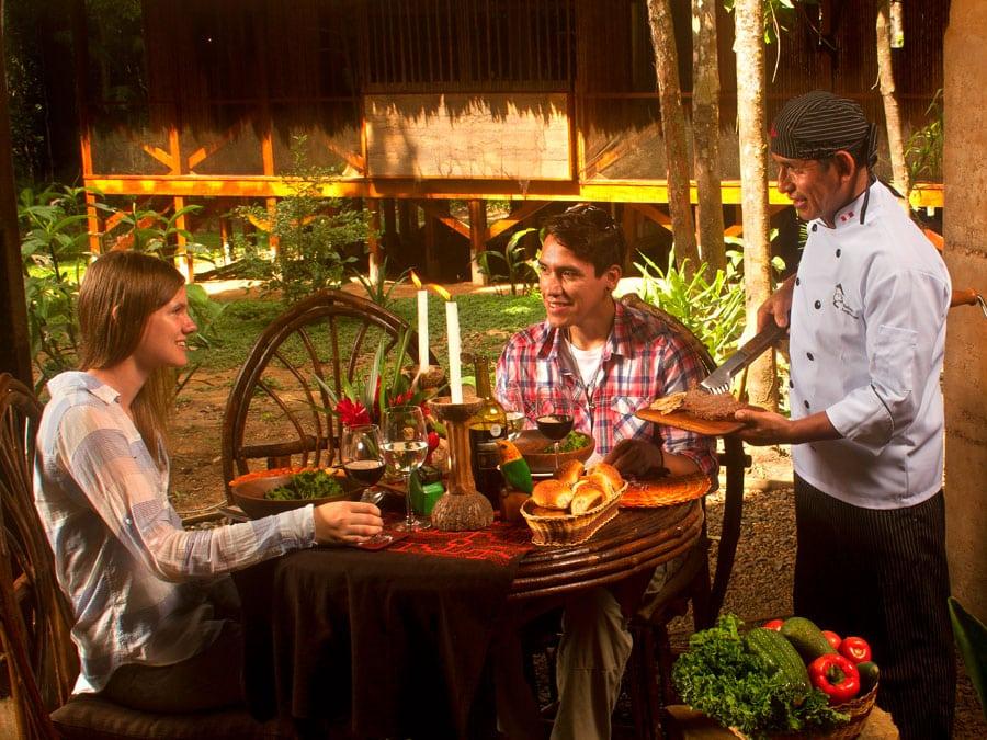 Amazon Villa Dining