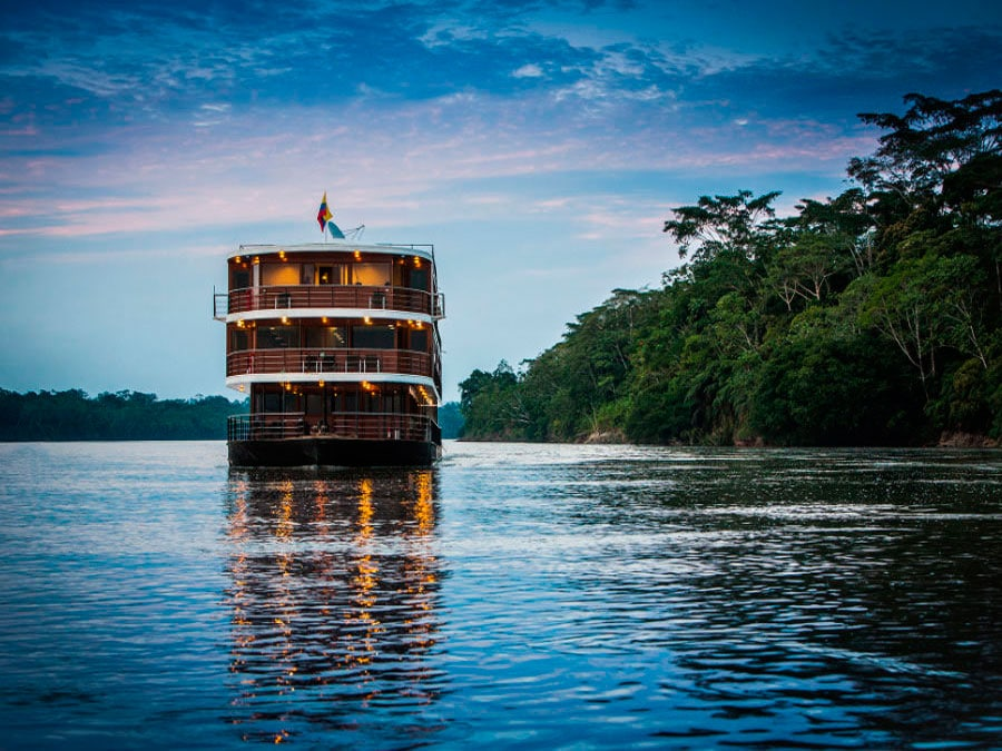 The Anakonda Amazon Cruise