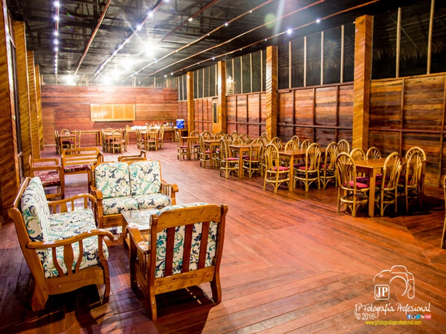 Tahuayo Lodge Dining Room