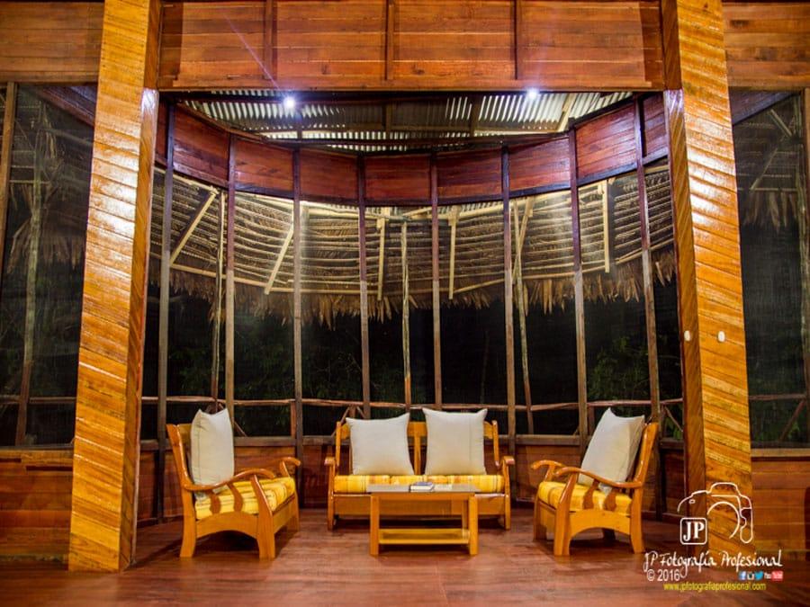 Tahuayo Lodge Lounge