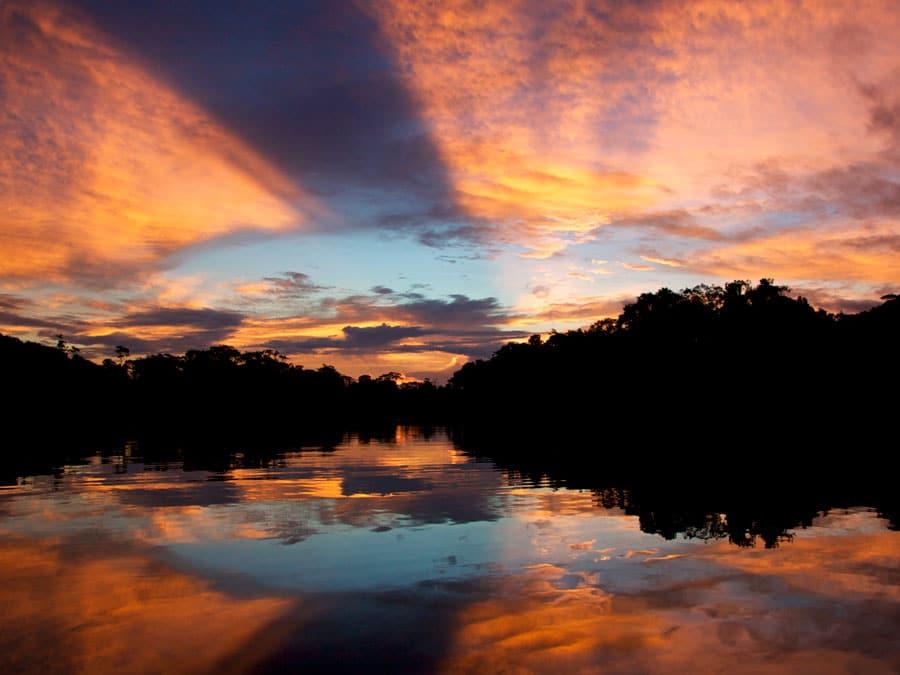 Tahuayo Sunset