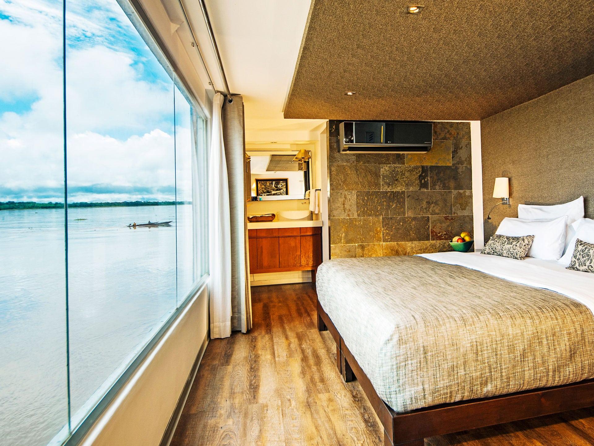 Iquitos Amazon Tour - River Cruise Suite