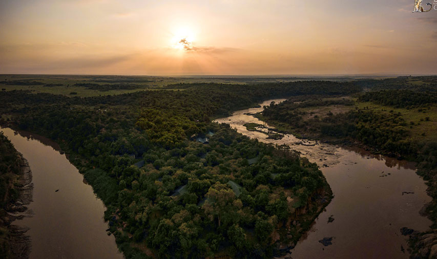 Mara River from Mara Eden Safari Camp