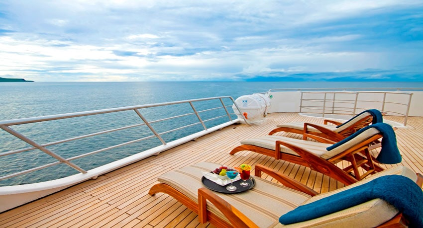 Ocean Spray Cruise Deck