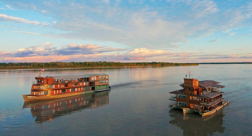 Delfin Amazon Cruises - Things to do on the Amazon River