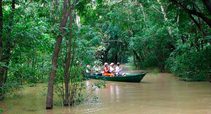 The Anavilhanas National Park & Central Amazon Ecological Corridor
