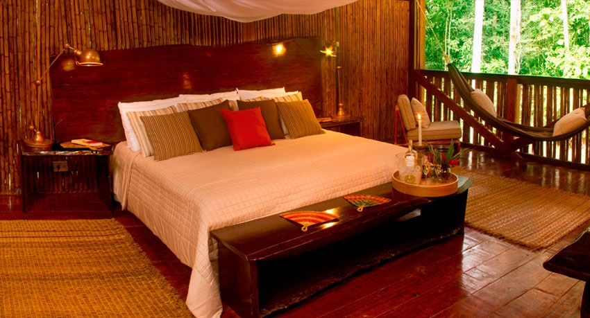 A Tambopata Luxury Lodge