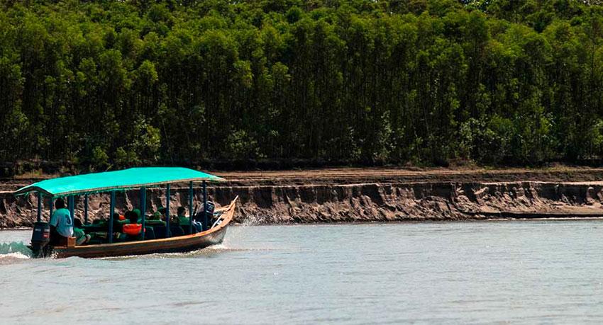 The Manu River