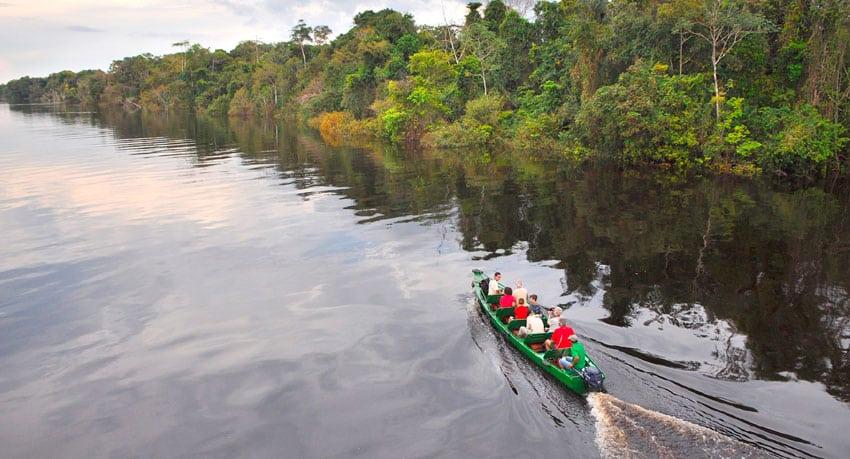 The Rio Negro, Manaus, Brazil