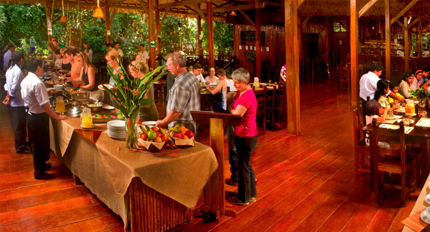 Refugio Amazonas Lodge - Dining