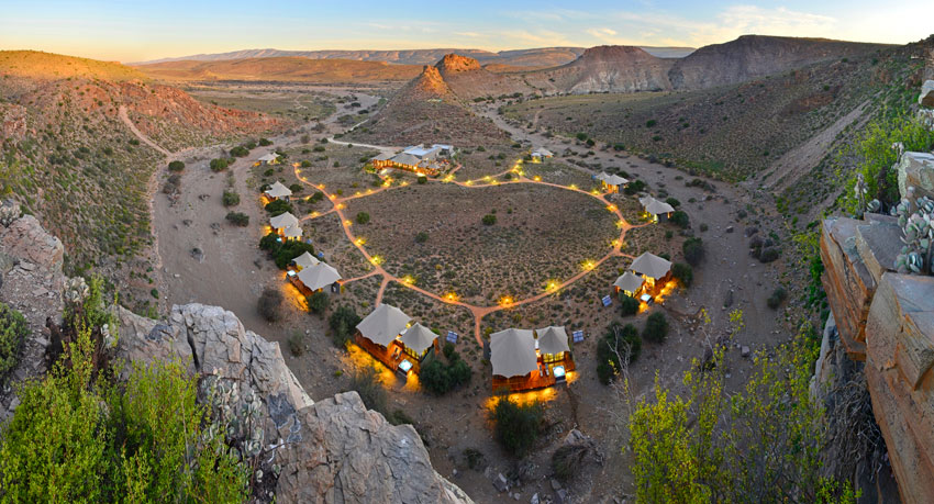 Dwyka Tented Lodge - Top Sanbona Wildlife Reserve Lodges