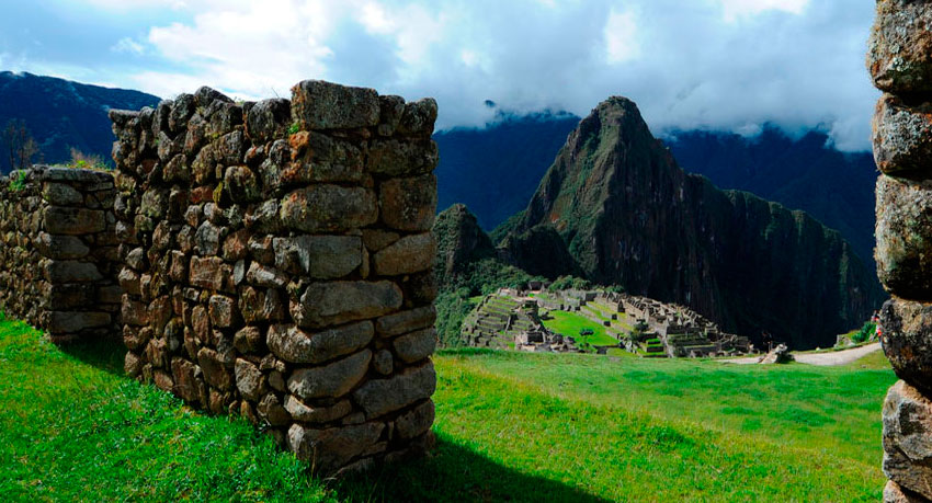 Machu Picchu from Sanctuary Lodge
