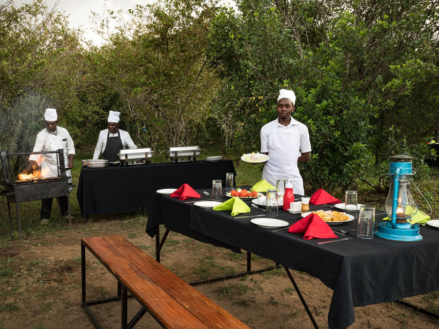 Mara Eden Camp Dining