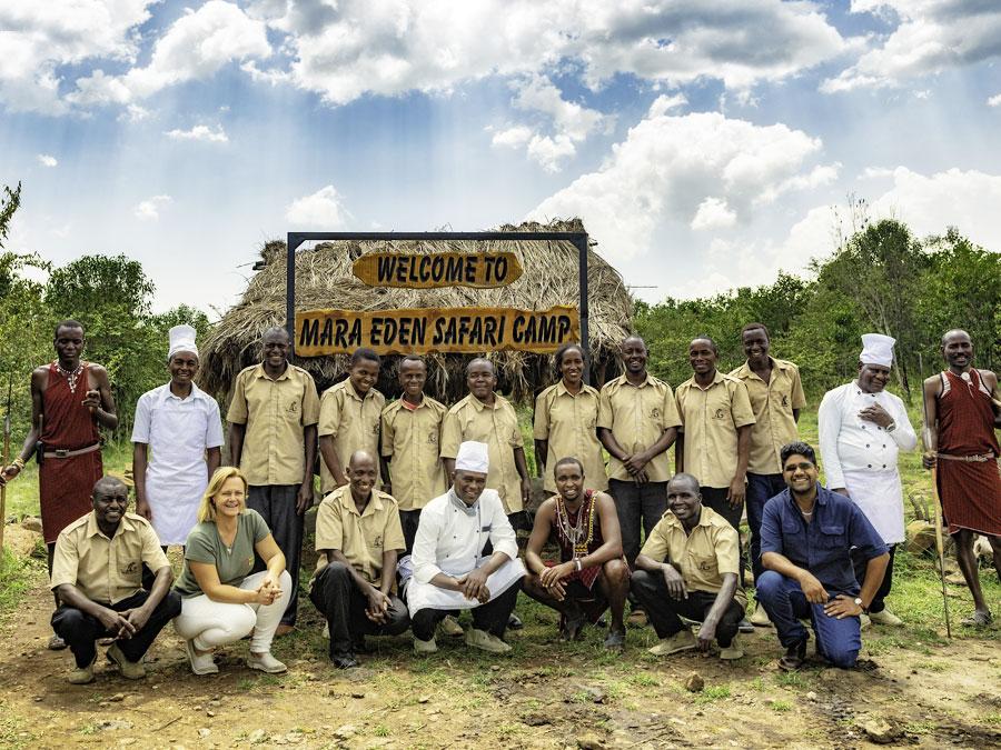 Mara Eden Safari Camp Staff