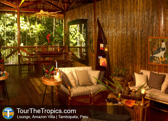 Amazon Villa Lounge - Tambopata Reserve
