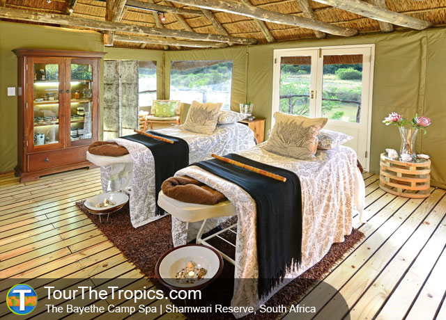 The Bayethe Tented Camp Spa - Shamwari Game Reserve Lodges