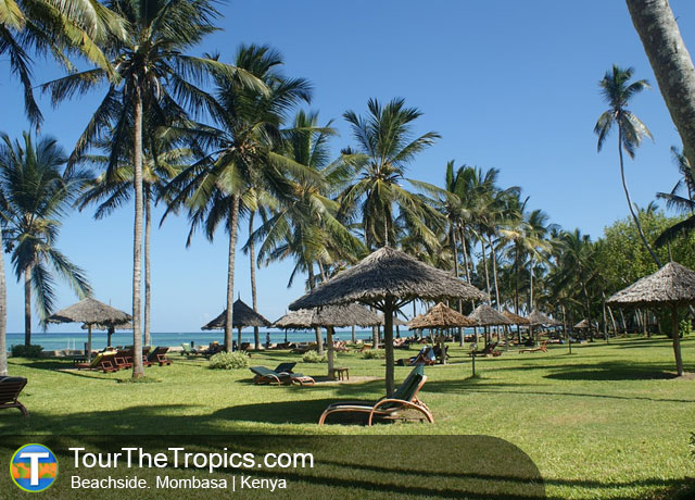 Beachside, Mombasa - Top Tourist Attractions in Kenya