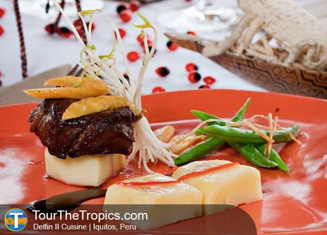 Delfin Cuisine - Top 10 Luxury Amazon Tours
