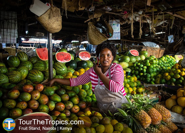 Fruit Market, Nairobi - Top Tourist Attractions in Kenya