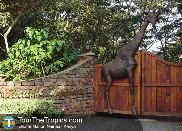 Giraffe Manor - Top Tourist Attractions in Kenya