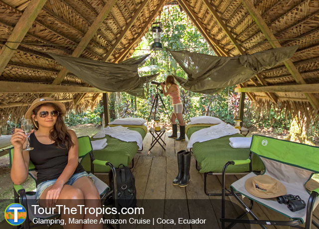 Glamping, Manatee Cruise - Amazon from Quito, Ecuador's Amazon