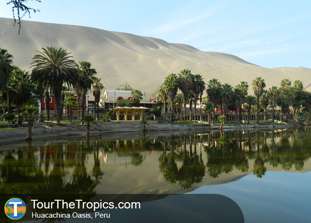 Huacachina - Best Tourist Cities in Peru