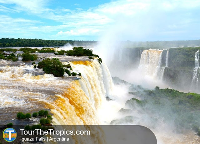Iguazu Falls - Top Travel Destinations in Latin America