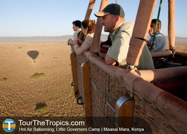 Hot Air Ballooning, Little Governors Camp, Kenya