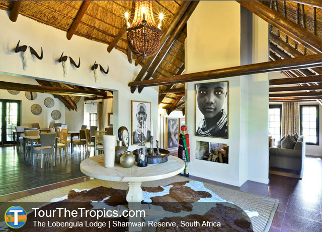The Lobengula Lodge - Shamwari Game Reserve Lodges