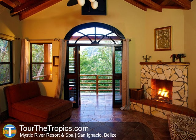 Mystic River Resort in the Maya Mountain near San Ignacio, Belize