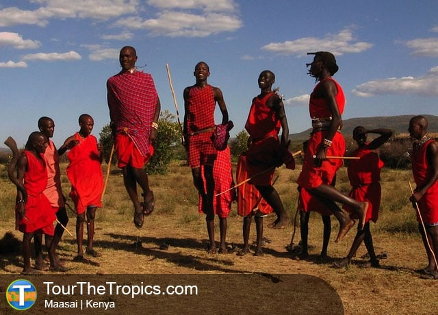 Maasai - Top Tourist Attractions in Kenya