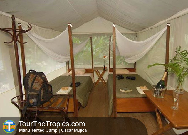 Manu Tented Camp, Manu National Park