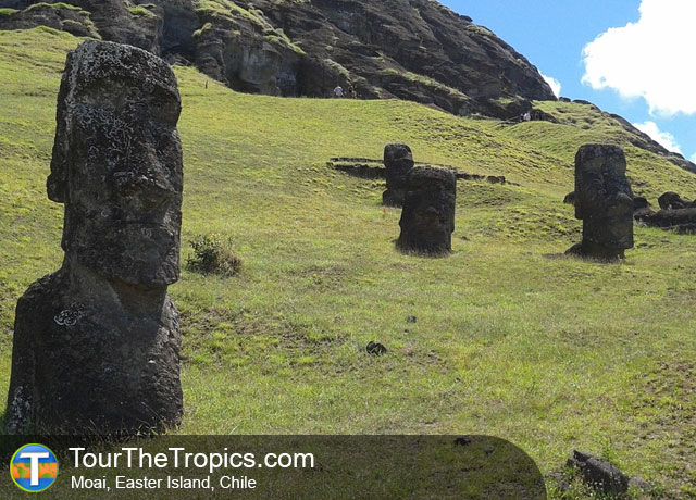 Moai Easter Island - Top Travel Destinations in Latin America