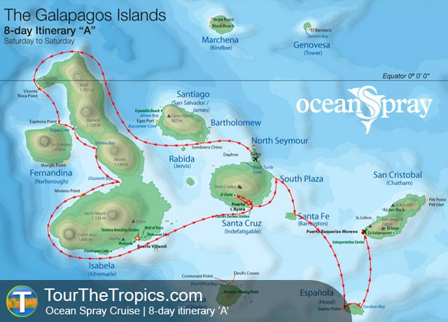 Galapagos Islands Cruise