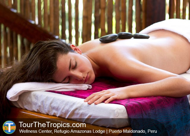 Spa at the Refugio Amazonas Lodge - Things to do in Peru